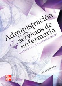 Book Cover: Administracion de los Servicios de Enfermeria