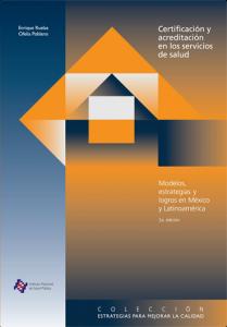 Book Cover: Certificacion y Acreditacion en los Servicios de Salud