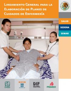 Book Cover: Lineamiento General para la Elaboracion de Planes de Cuidados de Enfermeria