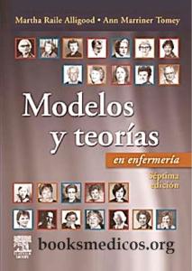 Book Cover: Modelos y Teorias en Enfermeria