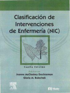 Book Cover: Clasificacion de Intervenciones de Enfermeria (NIC)