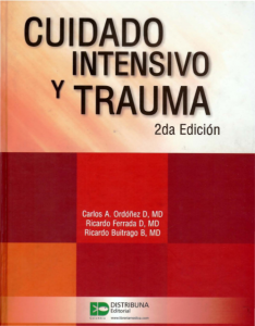 Book Cover: Cuidado Intensivo y Trauma