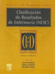 Book Cover: Clasificacion de Resultados de Enfermeria (NOC)