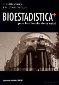 Book Cover: Bioestadistica para Ciencias de la Salud