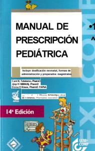 Book Cover: Manual de Prescripción Pediatrica